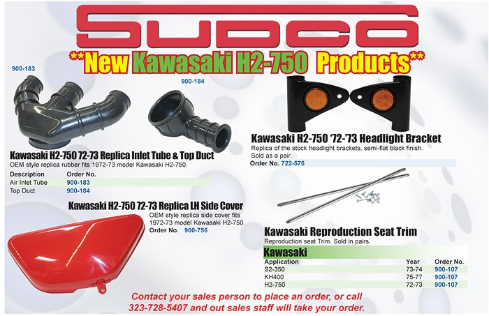Kawasaki H2 750 Replacement Parts
